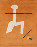 Rugs & Textiles:Tapestries, Joan Miró (Spanish, 1893-1983). Circus Tapestry, circa 1965.Hand woven wool. 76 x 59 inches (193.0 x 149.9 cm). Woven s...