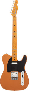 Musical Instruments:Electric Guitars, 1997 Fender '52 USA Re-issue Telecaster Copper Solid Body ElectricGuitar, #26496....