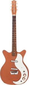 Musical Instruments:Electric Guitars, Circa 1963 Danelectro Standard Bronze Solid Body ElectricGuitar....
