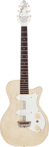 Musical Instruments:Electric Guitars, 1954 Danelectro Tweed Model Solid Body Electric Guitar....
