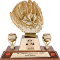 Baseball Collectibles:Others, 1960 Gold Glove Award from The Brooks Robinson Collection....