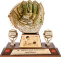 Baseball Collectibles:Others, 1961 Gold Glove Award from The Brooks Robinson Collection....