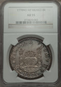 Mexico, Mexico: Charles III Pillar Dollar of 8 Reales 1770 Mo-MF AU55NGC,...