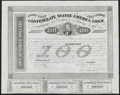 Confederate Notes:Group Lots, Ball 165 Cr. 123 $100 1863 Bond.. ...