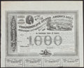 Confederate Notes:Group Lots, Ball 210 Cr. 125A $1000 1863 Bond. . ...