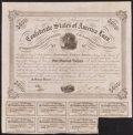 Confederate Notes:Group Lots, Ball 221 Cr. 121 $500 1863 Bond.. ...