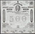 Confederate Notes:Group Lots, Ball 192 Cr. 124 $500 1863 Bond.. ...