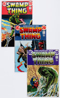 Bronze Age (1970-1979):Horror, Swamp Thing Box Lot (DC, 1972-75) Condition: Average VG+....