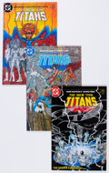 Modern Age (1980-Present):Superhero, New Teen Titans #2-9 Box Lot (DC, 1984-85) Condition: AverageNM-....