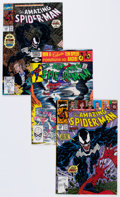 Modern Age (1980-Present):Superhero, The Amazing Spider-Man Box Lot (Marvel, 1981-90) Condition: AverageNM-....