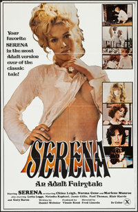 """Serena: An Adult Fairy Tale & Others Lot (Unknown, 1979). One Sheets (4) (27"""" X 41""""). Adult. ... (Total: 4..."""