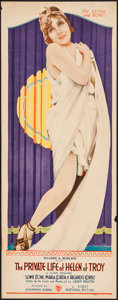 """Movie Posters:Comedy, The Private Life of Helen of Troy (First National, 1927). Insert(14"""" X 36""""). Comedy.. ..."""