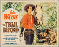"Movie Posters:Western, The Trail Beyond (Monogram, 1934). Half Sheet (22"" X 28""). Western.. ..."