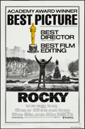 "Movie Posters:Academy Award Winners, Rocky (United Artists, 1977). One Sheet (27"" X 41"") Academy AwardsStyle B . Academy Award Winners.. ..."