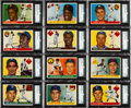 Baseball Cards:Sets, 1955 Topps Baseball Complete Set (206). ...