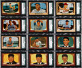 Baseball Cards:Sets, 1955 Bowman Baseball High Grade Complete Set (320+1). ...