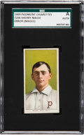 """Baseball Cards:Singles (Pre-1930), 1909-11 T206 Piedmont Sherry Magee """"Magie"""" Error SGC Authentic - The Most Famous Hobby Typo! ..."""