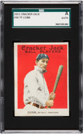 Baseball Cards:Singles (Pre-1930), 1915 Cracker Jack Ty Cobb #30 SGC Authentic. ...