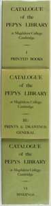 Books:Non-fiction, Catalogue of the Pepys Library at Magdalene College Cambridge. D. S. Brewer Ltd., [various dates circa 1980].... (Total: 3 Items)