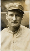 Baseball Collectibles:Photos, Circa 1924 Walter Johnson Original Photograph by Charles Conlon,PSA/DNA Type 1....
