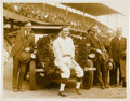 Baseball Collectibles:Photos, 1924 Walter Johnson Original News Photograph, PSA/DNA Type 1....