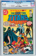 Modern Age (1980-Present):Superhero, New Teen Titans #2 (DC, 1980) CGC NM 9.4 White pages....