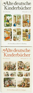 Books:Reference & Bibliography, Heinz Wegehaupt and Edith Fichtner. Alte deutsche Kinderbucher.Bibliographie... Berlin: Der Kinderbuchverlag, 1... (Total: 2Items)