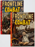 Golden Age (1938-1955):War, Frontline Combat #10 and 15 Group (EC, 1953-54).... (Total: 2 ComicBooks)