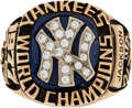 Baseball Collectibles:Others, 1977 New York Yankees World Series Championship Salesman's SampleRing....