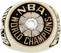 Basketball Collectibles:Others, 1974 Jo Jo White Boston Celtics Championship Salesman's SampleRing....