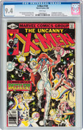 Modern Age (1980-Present):Superhero, X-Men #130 (Marvel, 1980) CGC NM 9.4 White pages....