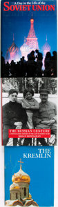 Books:Photography, [Russia, Photography]. Group of Three Photography Books on Russia. Various publisher's and dates. . ... (Total: 3 Items)