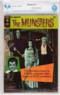 Silver Age (1956-1969):Humor, Munsters #9 (Gold Key, 1966) CBCS NM+ 9.6 White pages....