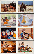 """Movie Posters:Animation, Pinocchio & Others Lot (Buena Vista, R-1971). Lobby Cards (16)(11"""" X 14""""). Animation.. ... (Total: 16 Items)"""