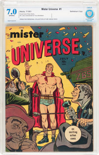 Mister Universe #1 Bethlehem pedigree (Aragon, 1951) CBCS FN/VF 7.0 Off-white pages