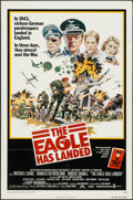 """Movie Posters:War, The Eagle Has Landed & Others Lot (Columbia, 1976). One Sheets(2) (27"""" X 41"""") & Programs (3) (Multiple Pages, 8"""" X 11"""",8.5... (Total: 5 Items)"""