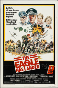 """The Eagle Has Landed & Others Lot (Columbia, 1976). One Sheets (2) (27"""" X 41"""") & Programs (3)..."""