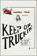 """Movie Posters:Adult, Keep on Truckin' & Other Lot (Blue Video, 1975). One Sheets (2) (27"""" X 41""""). Adult.. ... (Total: 2 Items)"""