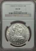 Mexico, Mexico: Charles III 8 Reales 1780-FF AU58 NGC,...