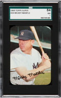 Baseball Cards:Singles (1960-1969), 1969 Topps Super Mickey Mantle #24 SGC 84 NM 7....