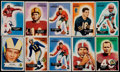 Football Cards:Lots, 1954 and 1955 Bowman Football Collection (168). ...
