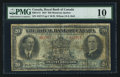 Canadian Currency: , Montreal, PQ- Royal Bank of Canada $20 Jan. 3, 1927 Ch. #630-14-12. ...