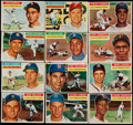 Baseball Cards:Lots, 1956 Topps Baseball Collection With Stars (60). ...