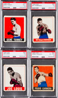 Boxing Cards:General, 1948 Leaf Boxing Near Set (46/49). ...
