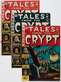 Golden Age (1938-1955):Horror, Tales From the Crypt #22-24 Group (EC, 1951) Condition: AverageGD/VG.... (Total: 3 Comic Books)