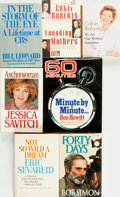 Books:Biography & Memoir, [Television News]. Group of Seven Books by or About TelevisionNewscasters. Various publisher's and dates. . ... (Total: 7 Items)