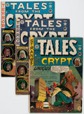 Golden Age (1938-1955):Horror, Tales From the Crypt #20 and 25-27 Group (EC, 1950-51).... (Total:4 Comic Books)