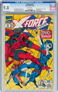 Modern Age (1980-Present):Science Fiction, X-Force #11 (Marvel, 1992) CGC NM/MT 9.8 White pages....