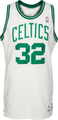 Basketball Collectibles:Uniforms, 1989-90 Kevin McHale Game Worn Boston Celtics Jersey. ...