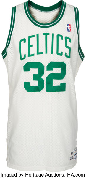 huge selection of 1ab0e a4e78 1989-90 Kevin McHale Game Worn Boston Celtics Jersey ...